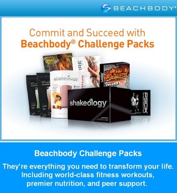 Beachbody Challenge Packs Transform Your Life