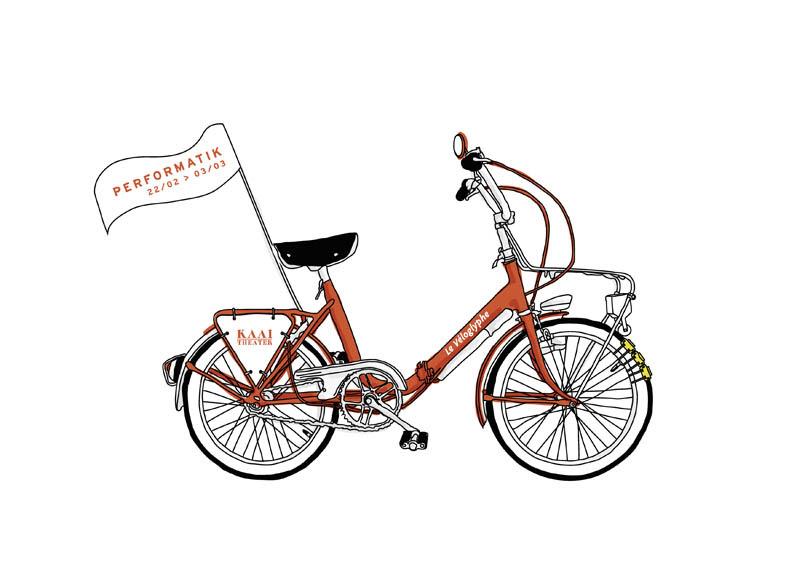 Collectif Vélos en Ville Marseille bicyclette véloglyphe Marion
