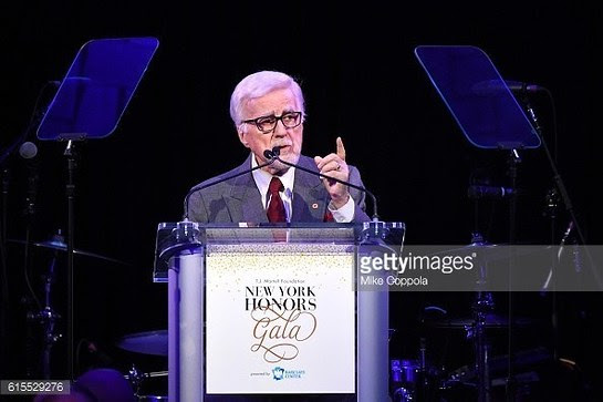 Tony Martell speaks at this years T.J. Martell Foundation New York Honors Gala held in October