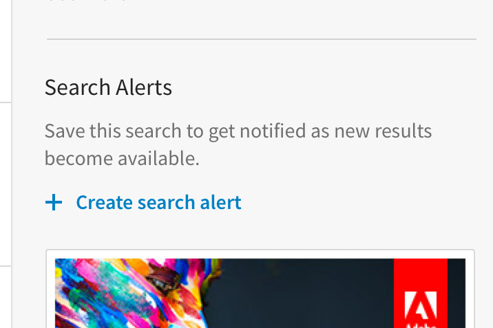 LinkedIn search alerts are wicked handy for contact builders