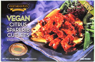 Image result for vegetarian plus spareribs