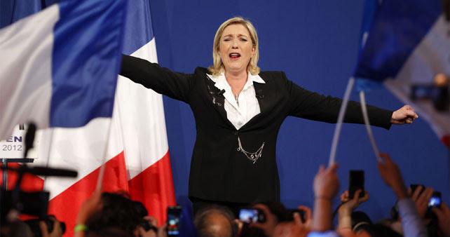 La líder del ultraderechista Frente Nacional de Francia en una imagen de archivo.