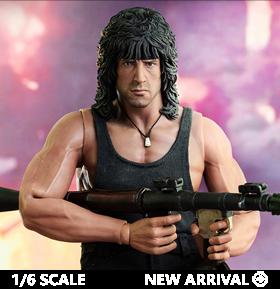Rambo III John Rambo 1/6 Scale Collectible Figure