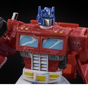 Transformers War for Cybertron: Siege 35th Anniversary Voyager Optimus Prime