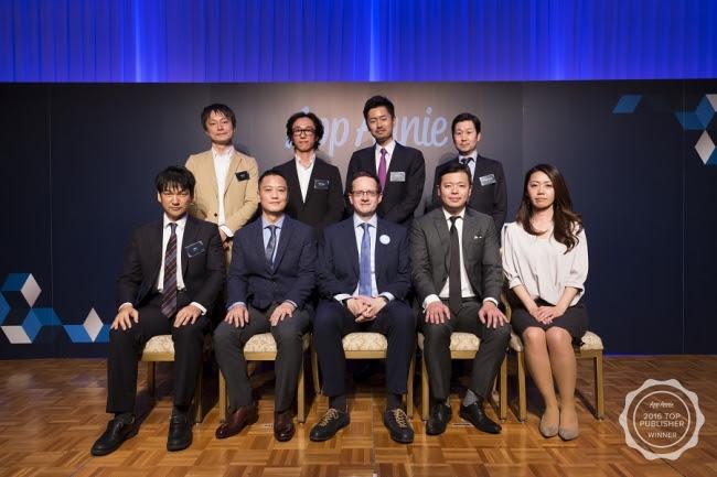 2016年 日本MAUランキングトップ10 受賞企業