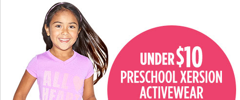 Under $10 preschool Xersion ac...