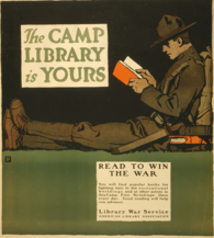Camp Library Poster