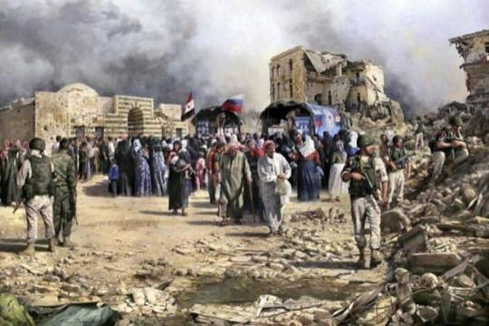 Augusto Ferrer-Dalmau, un pintor español en la batalla de Siria