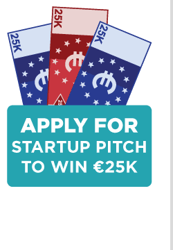 Apply for Startup Pitch to Win €25k