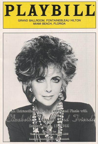 Playbill Elizabeth Taylor
