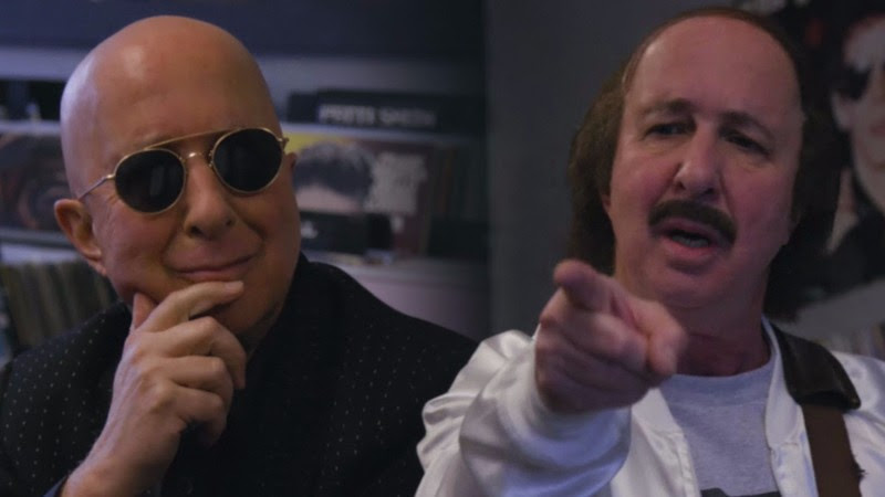 Paul Shaffer Meets Artie Fufkin from This Is Spinal Tap