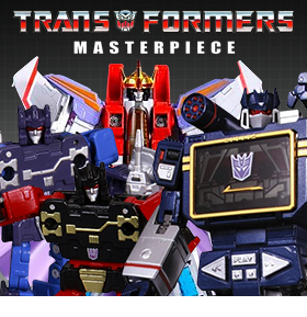 TRANSFORMERS MASTERPIECE REISSUE FIGURES
