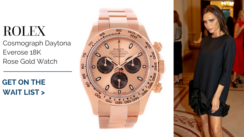 Rolex Cosmograph Daytona Everose 18K Rose Gold Watch