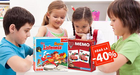 Jocuri distractive pentru copii isteti