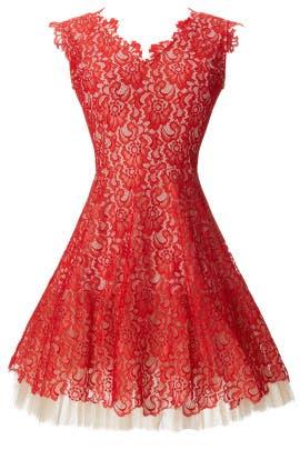Lace Dahlia Dress