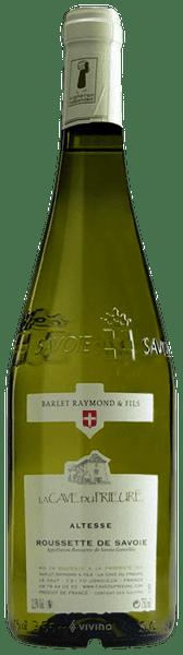 La Cave du Prieure - Raymond Barlet & Fils Altesse Roussette de ...