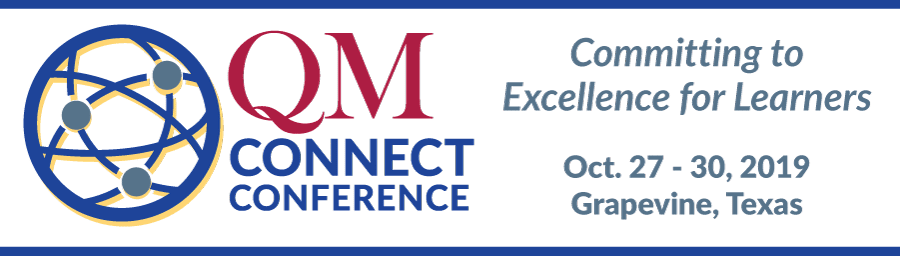 Banner that says QM Connect Conference