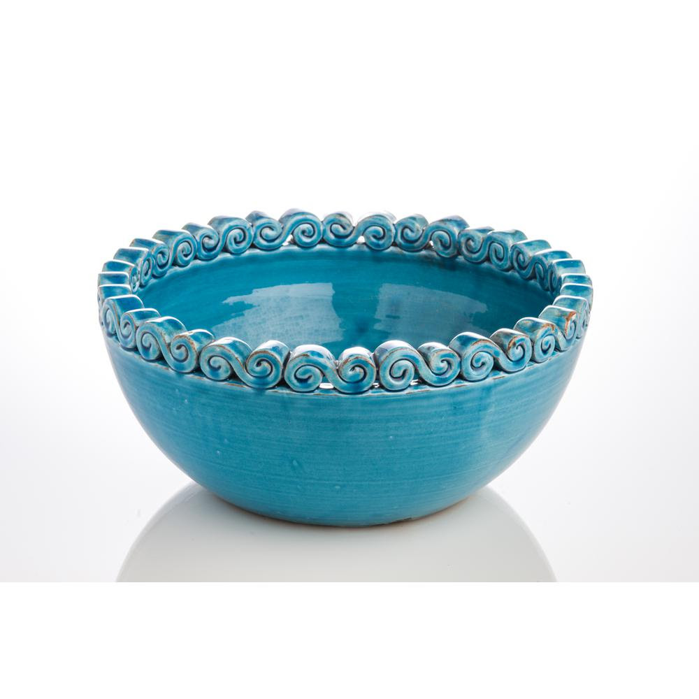 Image result for puglia turquoise bowl home depot
