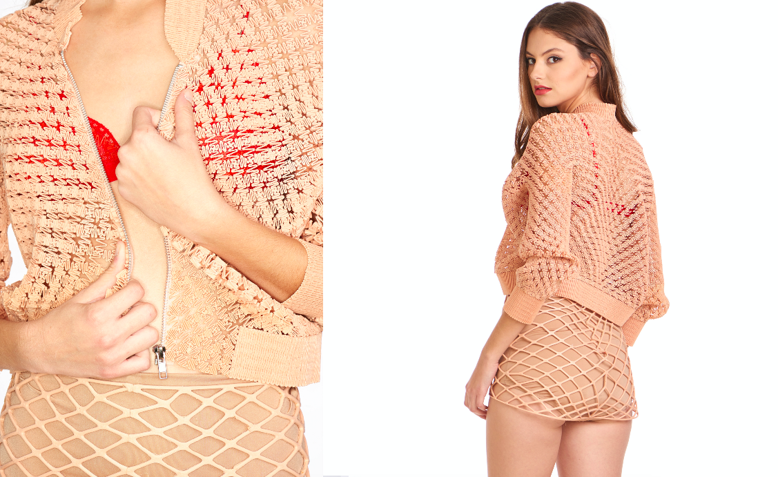 Danit Peleg's 3D printed jacket is available for purchase.