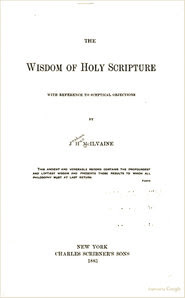 McIlvaine title page