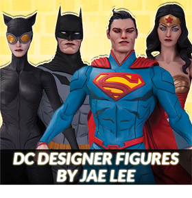 DC DESIGNER FIGURES BY JAE LEE