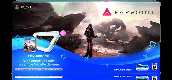 PS4® FARPOINT PlayStation®VR Aim Controller Bundle Ensemble Manette de viseé