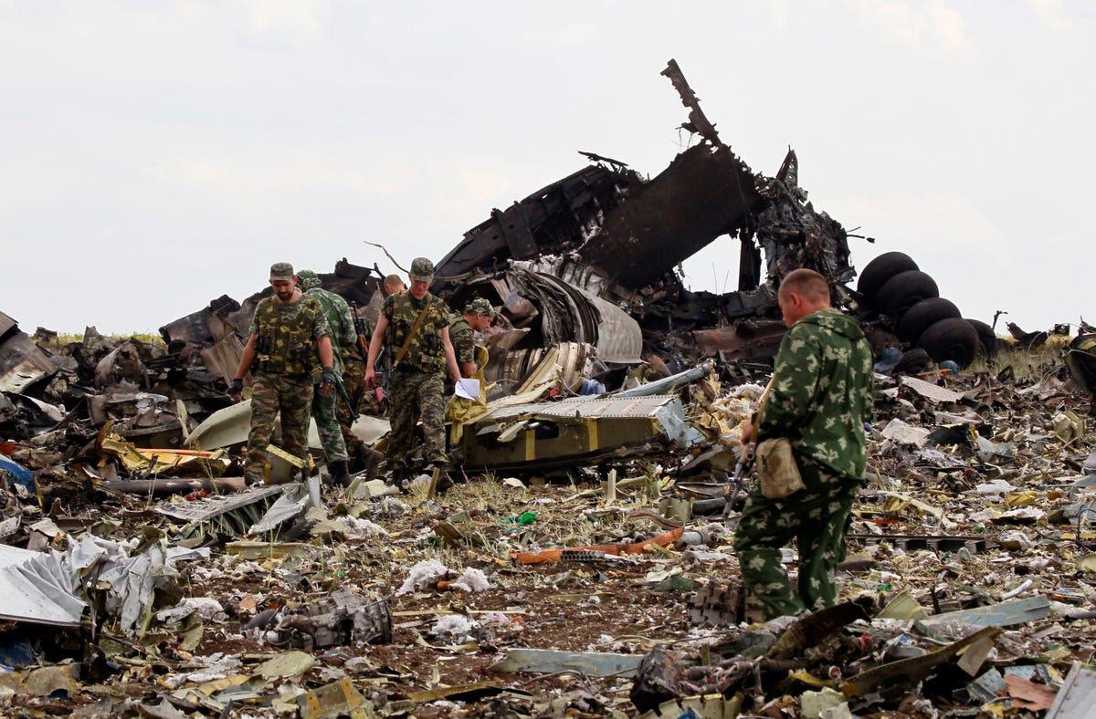 ukraine plane pro rebel