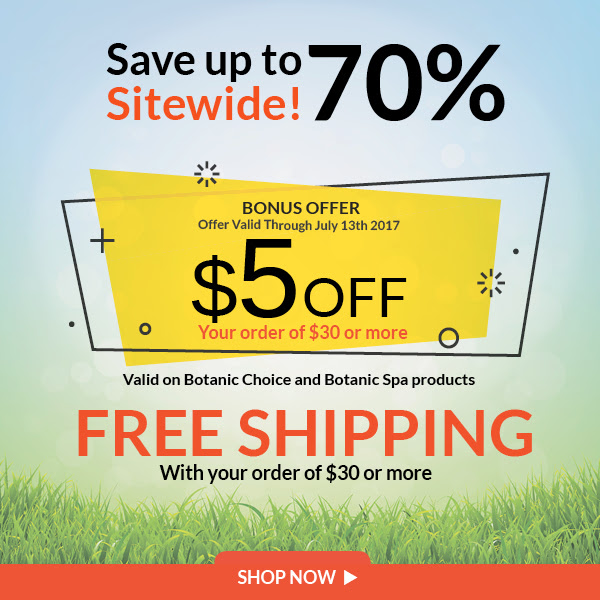 Save up to 70% Sitewide! Offer valid Through July 13th. $5 off 30 plus Free Shipping on $30 or more
