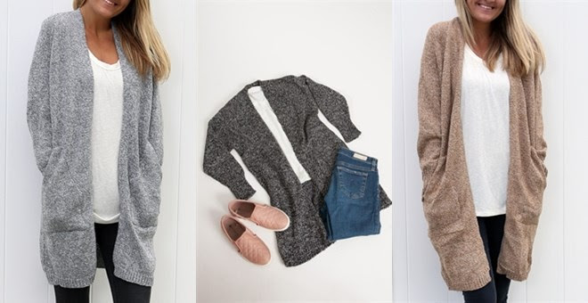 HOT!! Cozy Boyfriend Cardigan.