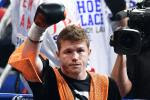 De La Hoya Talks Possible Golovkin Bout for Canelo