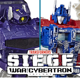 TRANSFORMERS WAR FOR CYBERTRON: SIEGE FIGURES