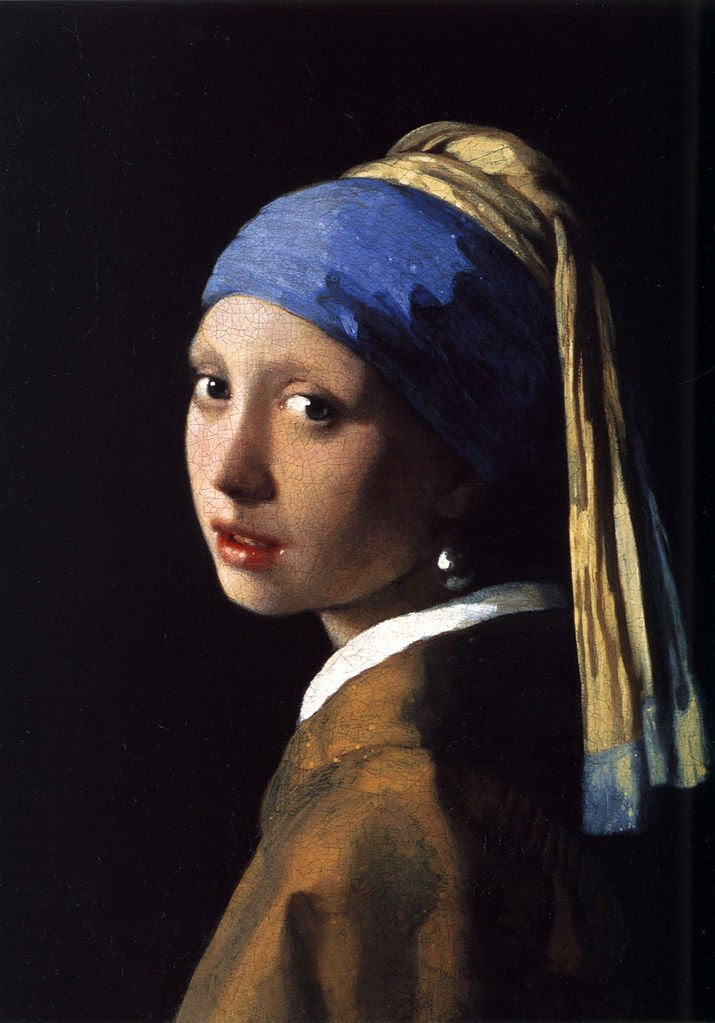 Most Famous Paintings: Girl With A Pearl Earring, by Johannes Vermeer