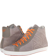 See  image Armani Jeans  Washed Leather High Top