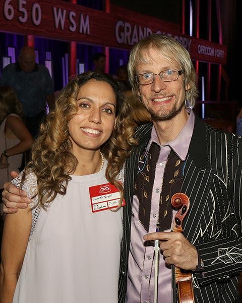 Kyle Dillingham with fiancé, Ginnette Tavzel