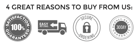 Αποτέλεσμα εικόνας για 4 great reasons to buy from us black badges