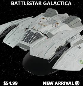 Battlestar Galactica Ship Collection #11 Cylon Raider (Blood & Chrome)
