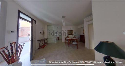 Sala appartamento quadrilocale appartamento Grosseto, via Corridoni angolo Porciatti - Grosseto Invest