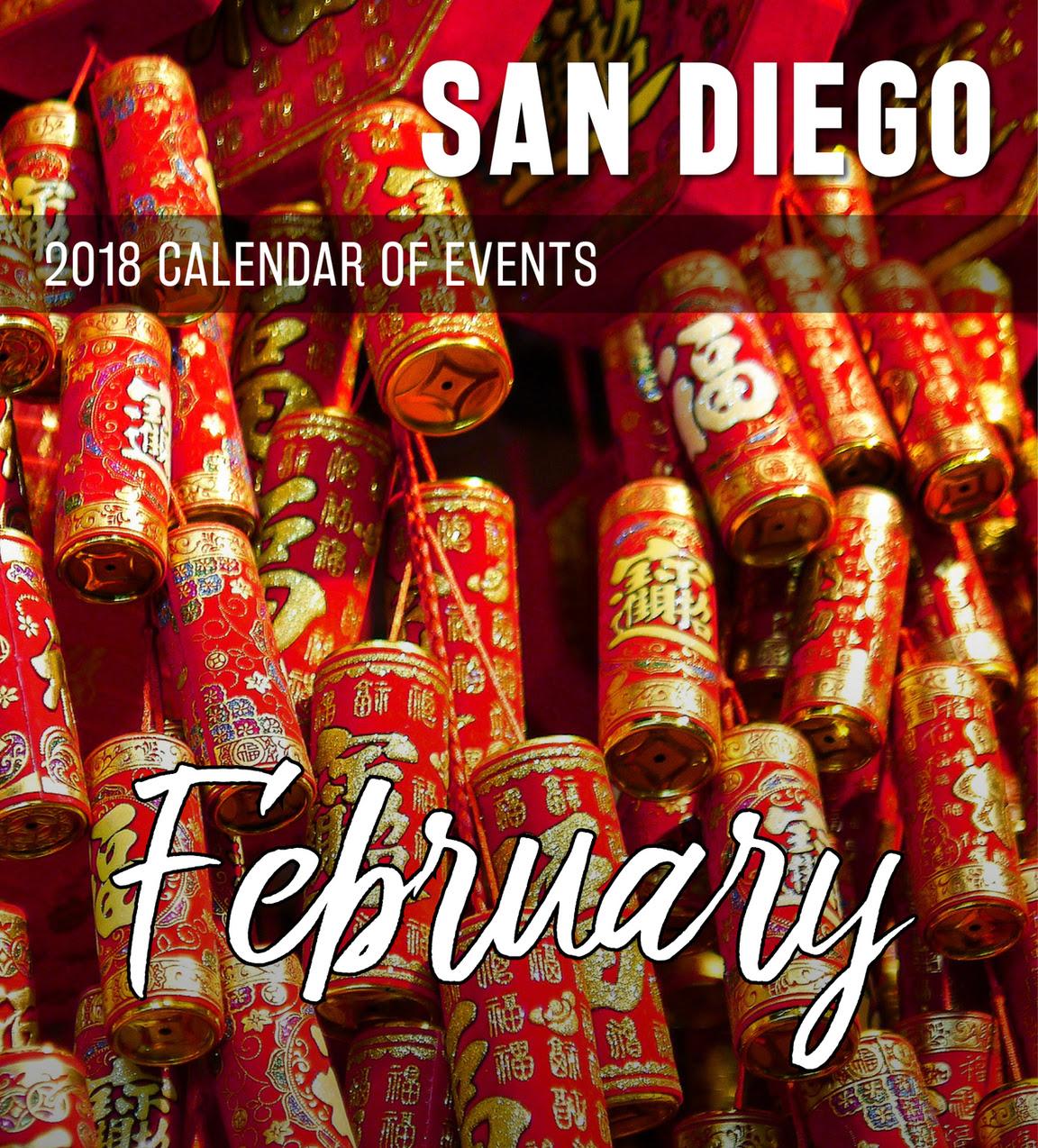 San Diego February 2018 Calendar of Events