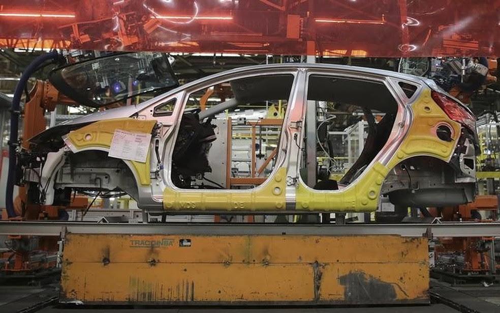 Fábrica da Ford em São Bernardo do Campo (SP) foi fechada em 2019 — Foto: Reuters/Nacho Doce