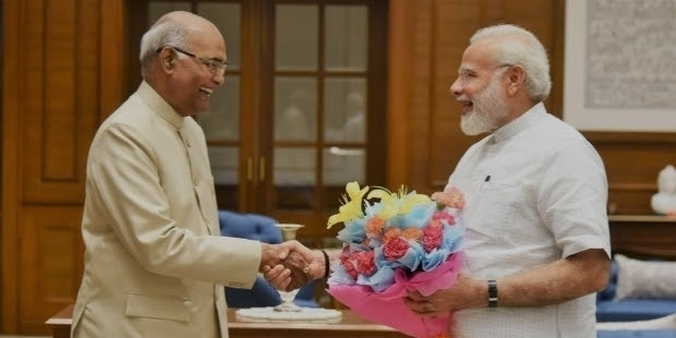 meeting governor kovind credit minister prime narendra