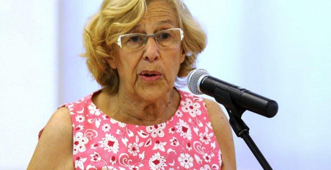 La alcaldesa de Madrid, Manuela Carmena. EFE