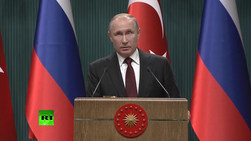 Putin sobre el caso Skripal: