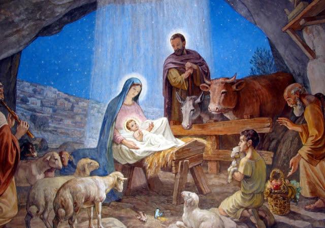 Znalezione obrazy dla zapytania pasterze u żłóbka
