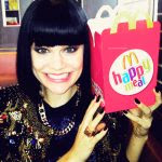 I'm sure Jessie J is a big fan of McDonalds.