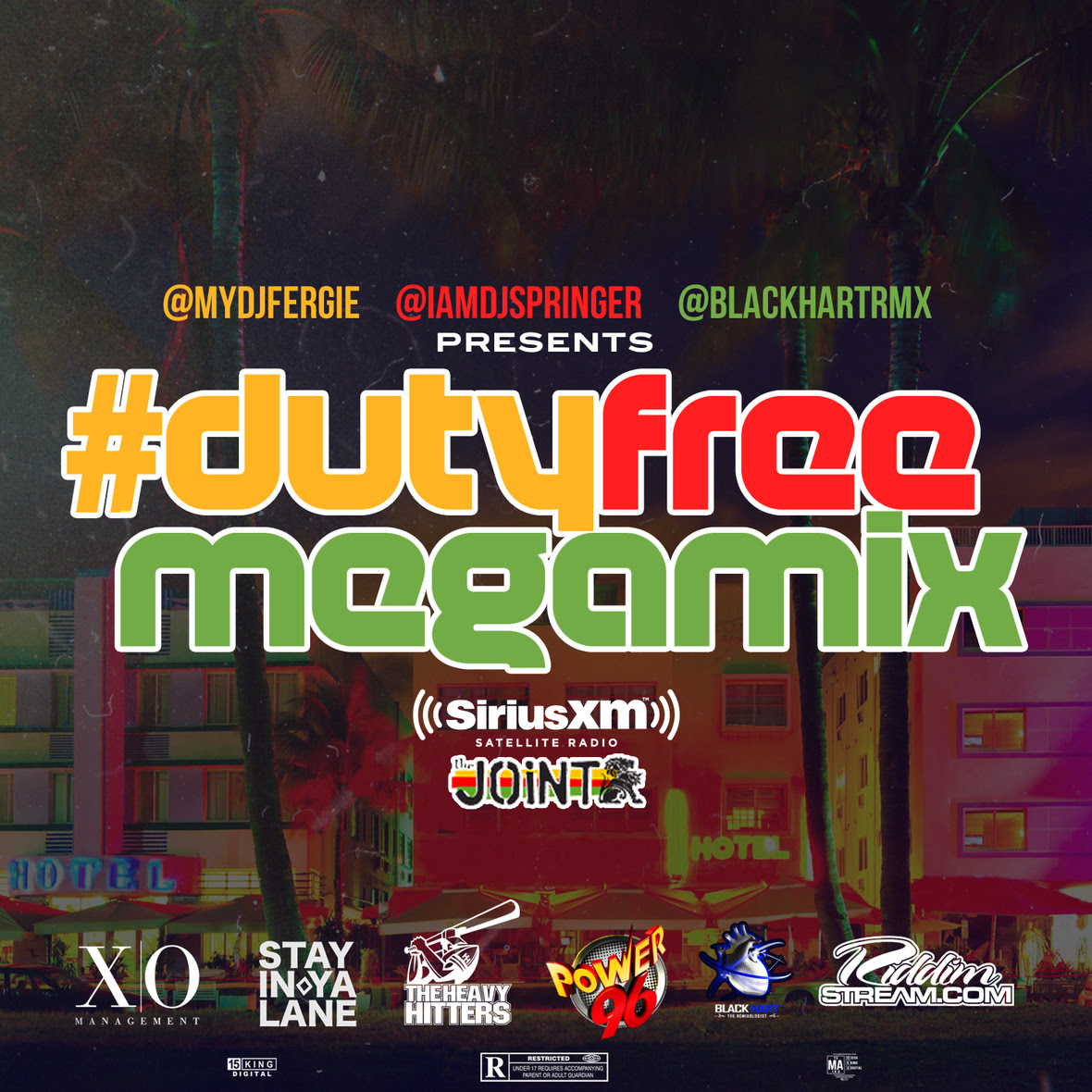 TheDutyFreeMegaMIX - Cover Art