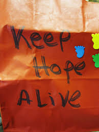 Image result for Keep Hope Alive Never Be The Same photo