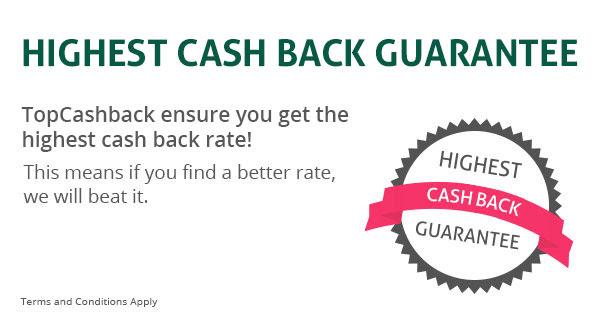 Cash back Guarantee