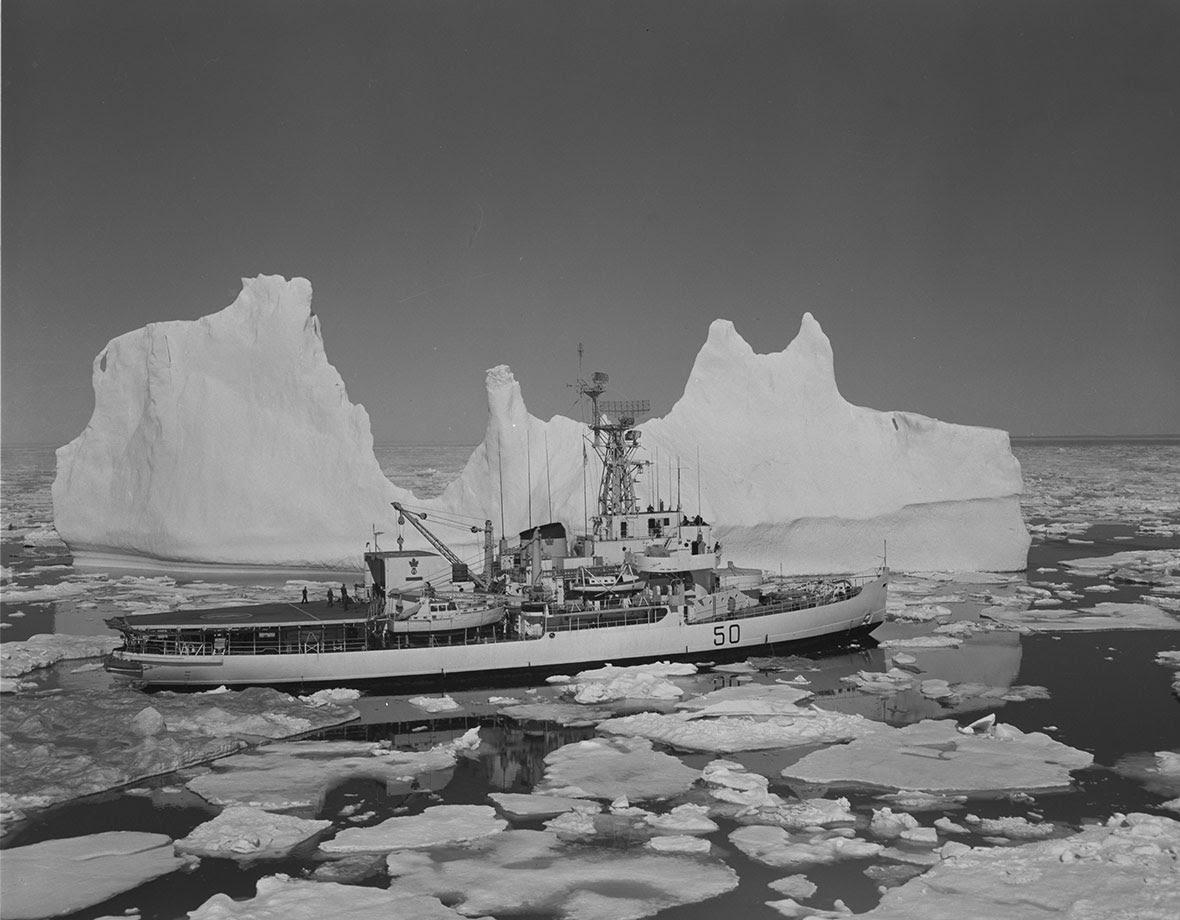 HMCS Labrador explores the Arctic