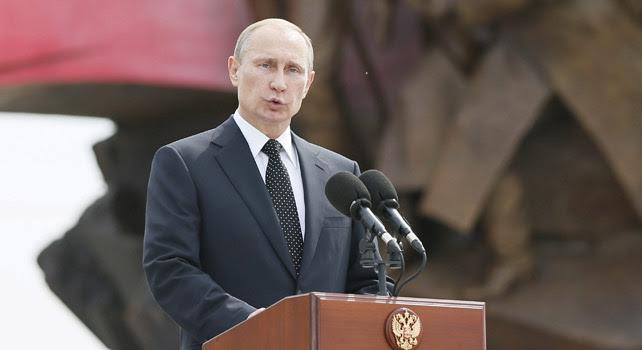El presidente ruso, Vladimir Putin, el pasado 1 de agosto.
