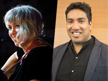My new neighbour stories: Shankar Kasynathan and Kavisha Mazzella